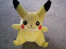 "Vintage 1998 Hasbro game freak Original Nintendo Pokemon Pikachu basic plush 8"""