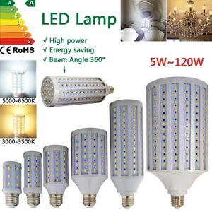 led light bulb e27 220v cool warm white corn smd 10w 20w 30w 60w 80w 120w lamp