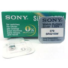 10 x Sony 379 AG0 618 SR63 JA SR521SW Watch Batteries