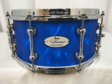 """Pearl Reference Pure MCC 13"""" Dia X 6.5"""" Deep Snare Drum/Blue Satin Moire/#721"""