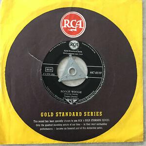 "TOMMY FDORSEY: Boogie Woogie / ""Opus No. 1"" (Single RCA 447-0119 / Mono / FLC)"