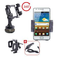 En coche teléfono holder/mount & Cargador Con 3-1 Estilo Para Samsung Galaxy S Ii I9100