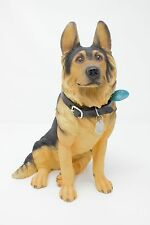 New Large Sitting Walkies by Leonardo German Shepherd Alsatian Ornament Figure