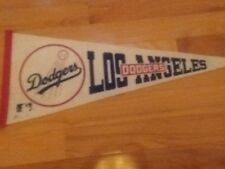 """LOS ANGELES DODGERS VINTAGE 80'S PENNANT FULL SIZE 30"""""""