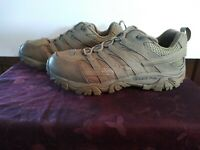 Merrell Work Men's Moab 2 Tactical Shoes, Coyote Brown, Size 10.5W US