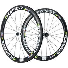 2017 New Superteam Carbon Road Bike Wheels 50mm Clincher Carbon Wheelset DT 350