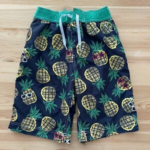 HANNA ANDERSSON Pineapple Swim Shorts Size 140 (US 10)