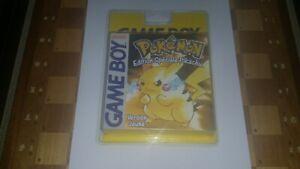 Pokemon  Version Jaune - blister (Nintendo Game Boy, 1999)