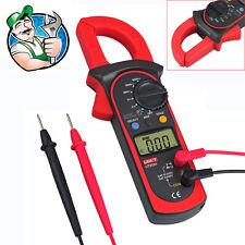 UNI-T UT202A LCD Digital Multimeter Auto Range Clamp Meter Voltage AC DC600 LEAD