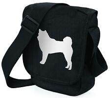 More details for akita dog bag shoulder bags metallic gold / silver black handbag mothers day