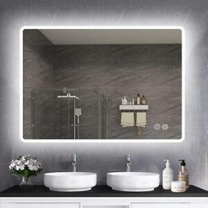Illuminated Bathroom LED Mirror [IP44] with Bluetooth Speaker Demister Dimmable