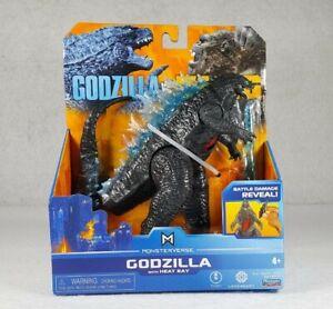 Godzilla With Heat Ray Brand New Action Figure - TOHO - Playmates Vs Kong - NIP
