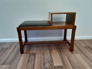 Oak telephone table/Hall Table By The Seahorse Man