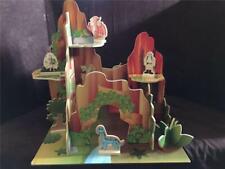 Teamson Kids Table Top Dinosaur Jurassic Island Wooden Play Set BRAND NEW