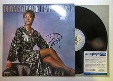 Dionne Warwick Signed Autographed HEARTBREAKER Vinyl Album LP PROOF ACOA A