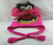 DISNEY PARKS MUPPETS ANIMAL Drummer JIM HENSON CHARACTER KNIT HAT CAP Cosplay +