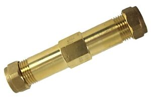 HOMEBASE Compression 15mm Burst PIPE REPAIR CONNECTOR Hot Cold Mains Supply
