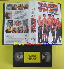 VHS TAKE THAT in tour SIRIO italy ROBBIE WILLIAMS no mc cd dvd lp (VM8)