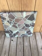 Werzalit Commercial Indoor/Outdoor Patio Table Tops Cemented Stone Pieces