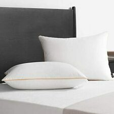 New Listingdownluxe Premium Down Feather Pillows - 2 Pack Bed Pillows for Sleeping with Sof