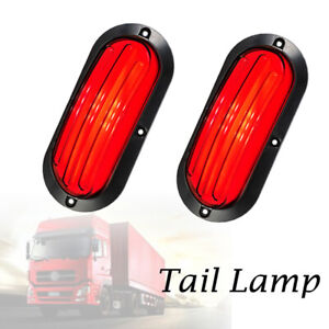2X74LED Car Turn Reverse Truck Tail Lamp Stop Brake explosion Light Indicator