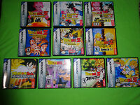 EMPTY CASES!  Dragon Ball Z: Collection Supersonic Warriors GBA Game Boy Advance