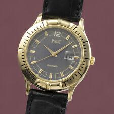 Piaget Polo 18K (0,750) Gold Automatik Herrenuhr Datum Ref. 24010 VP: 23800,- €