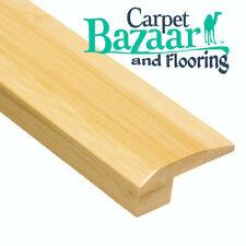"Prefinished Horizontal 5/8"" x 6.5' Natural Bamboo Carpet Reducer Threshold CBF#1"