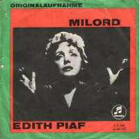 "Edith Piaf Milord 7"" Single Vinyl Schallplatte 54989"