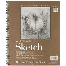 Sketchbook Sketch Pad 9 x 12 in 60 Pound 100 Sheets Paper Art Drawing Painting