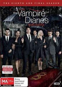 The Vampire Diaries Season 8 : NEW DVD