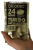 Turbohefe 24H - 20% Alkohol in 5 Tagen, 14% in 24 Stunden - Top Alkoholhefe