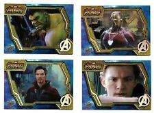 2018 Upper Deck Marvel Avengers Infinity War Tier 1 Base Card Set Card #s 1 - 50