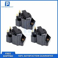 Set of 3 Ignition Coils for Buick Cadillac Chevy GMC Isuzu Olds Honda DR39 New
