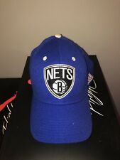 Brooklyn Nets NBA Licensed Adidas Superflex NBA Blue Flex Fit Cap Hat Lid L/XL
