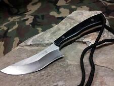 "Elk Ridge Fixed Knife 7.6"" Overall Recurve Edge Stainless Hunting Outdoor e547BK"