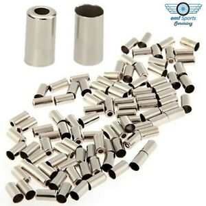 Alloy BRAKE CABLE END CAPS / FERRULES - Bike & Cycle 5mm Outer Housings