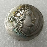 Rare Silver Plated Greek Ancient Coin The Great Greek Coin NO.49
