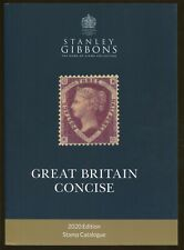 2020 Stanley Gibbons Great Britain Concise Postage Stamp Catalogue - 543 Pages