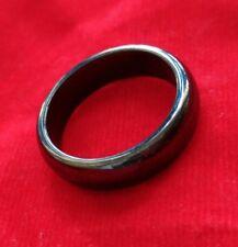 Ring Leklai Hematite Magnetic amulet Thai Prevent black magic relieve illness 59