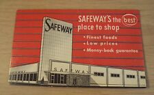 "VTG Advertising/Promo NEEDLE PACKET KIT~""SAFEWAY GROCERY STORE""~"