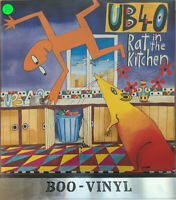 UB40 Rat In The Kitchen Vinyl LP Album Reggae Dub Eletronic 1986 NM CON SUPERB