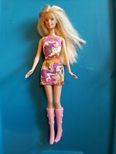 1990's Mattel Barbie - Mod Dress and Boots - Ooak Very Nice!