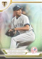 2018 Topps Triple Threads Baseball #57 Mariano Rivera New York Yankees
