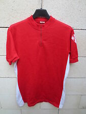 VINTAGE Maillot cycliste BIARRITZ OLYMPIQUE BO Pays Basque jersey camiseta L 4