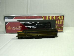 BROADWAY LIMITED PARAGON N SCALE ALCO PA W/SOUND & DCC NEW HAVEN 3845