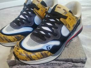 Gucci Mens Ultrapace  yellow Size 9.5 US Guarunteed Authentic Brand New