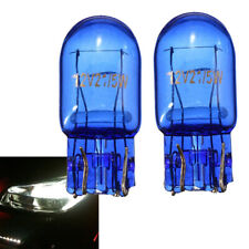 2x New T20 7443 W21/5W R580 Halogen White Turn Signal Stop Brake Tail Light Bulb