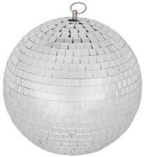 QTX 151.583 Glass 20cm Diameter Club Disco Mirror Ball Glittering Effect Display
