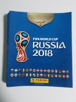 2018 Panini Russia FIFA World Cup Soccer Sticker Original Album/Collection Book